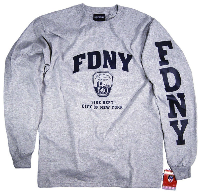 1dddf916 FDNY Shirt T-Shirt Officially Licensed Clothing Apparel by The   Etsy