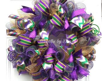 Mardi Gras Decor Etsy