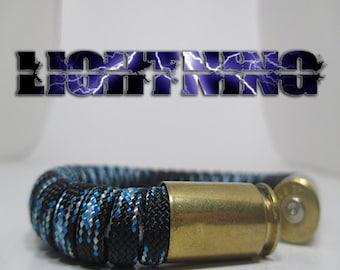 Lightning Military and Second Amendment Paracord Bullet Bracelet