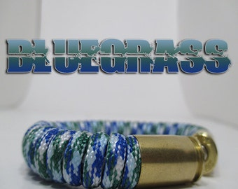 Bluegrass Military and Second Amendment Paracord Bullet Bracelet