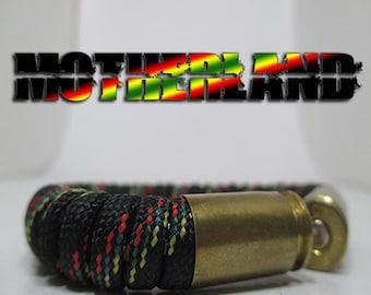Motherland Military and Second Amendment Paracord Bullet Bracelet