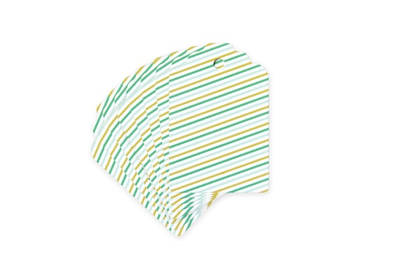 Stripes Gift tags // set of 10 // Gift wrap presents // Labels