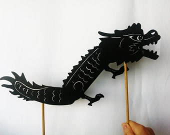 Chinese Dragon Shadow Puppet