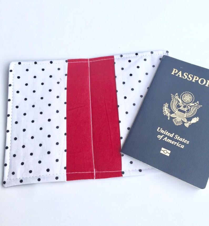 Passport Cover Passport Holder Passport Wallet Travel Passport image 0