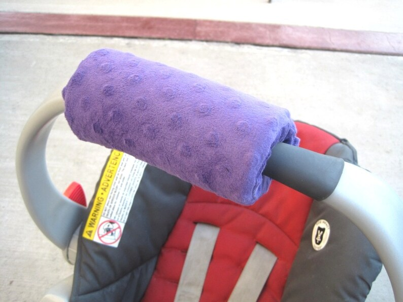Car Seat ARM PAD Handle Wrap Arm Pad Cushion Reversible image 0