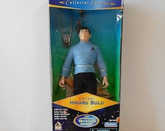 RJ Ernst SULU Star Trek Porcelain Doll 1989. Collectible Star Trek figurine