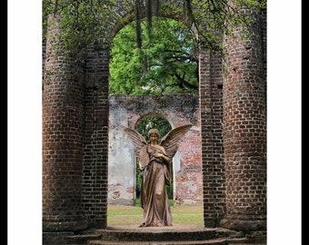 Church ruins   Etsy