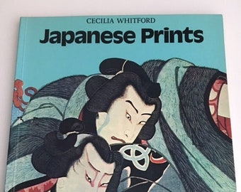 Japanese Prints Book By Cecilia Whitford St. Martin's Press Like New Condition Published 1978 USA