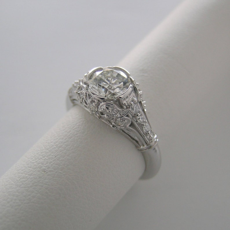 Summer Sale Diamond Engagement Ring GIA Certified 0.79 Ct. image 0