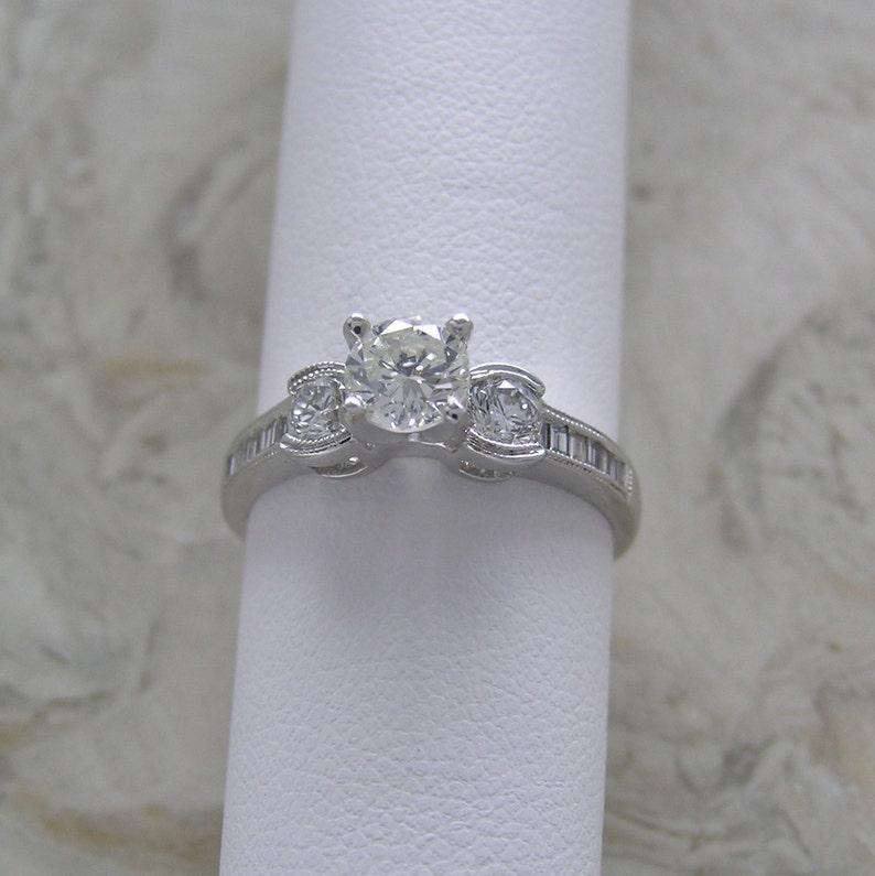 Price Slashed Natural Genuine Diamond Engagement Ring Total image 0