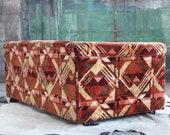 SOLD Mid Century Danish Modern Milo Baughman Lenor Larsen Loveseat Couch Sofa Nelson Selig Dunbar Knoll Wormley MCM Hollywood Regency BOHO