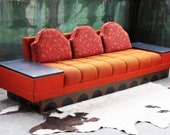 SOLD RARE Mid Century Modern Tufted Adrian Pearsall quot Strictly Spanish quot Craft Associates w 2 End tables MCM Danish Modern Designer 60s 70s