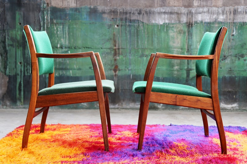 931ff9118182 MCM Mid Century Modern Danish Teak Rosewood Armchair Arm Chair