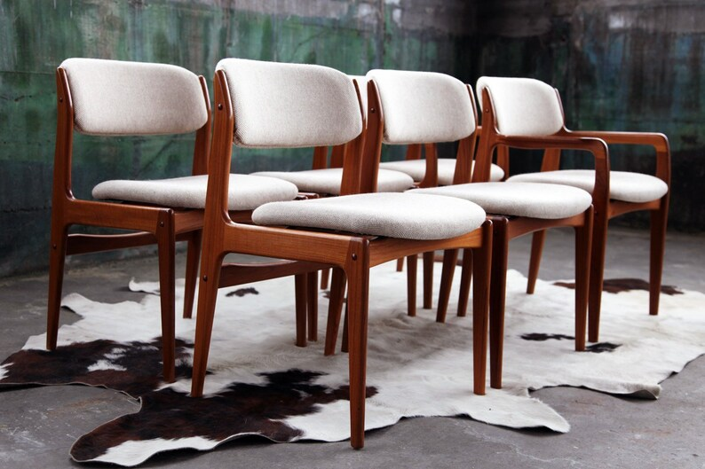 Chairs 18 Vintage Danish Teak Dining Chairs Mcm Numerous In Variety