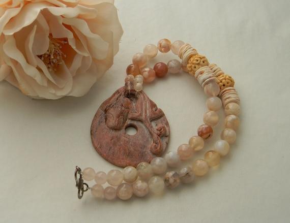 Donut Charm//Pendant Onyx Black 28mm   Accessory DIY Jewellery Making Crafts