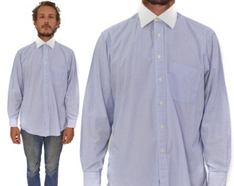 Vintage 90s Gitman Bros. Long Sleeve Button Down Oxford Dress Shirt