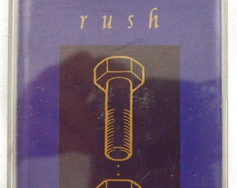 Vintage 90s Rush Counterparts Hard Prog Rock Album Cassette Tape