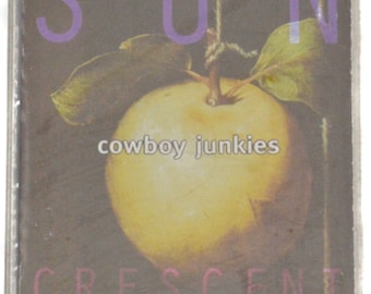Vintage 90s Cowboy Junkies Pale Sun Crescent Moon Album Cassette Tape