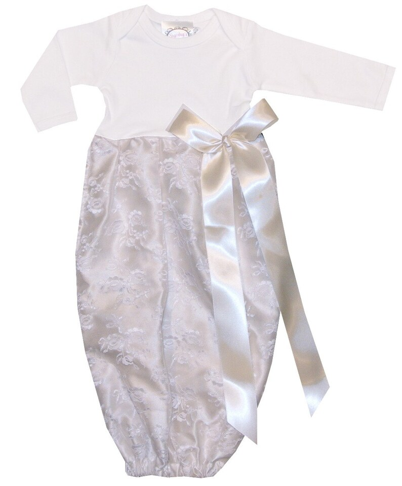7c21f66226c10 Baby Girls Infant Gown-Girl Monogrammed Day Gown-Baby Girl