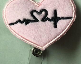 Nurse Badge Holder- Nurse Gift- Doctor Gift