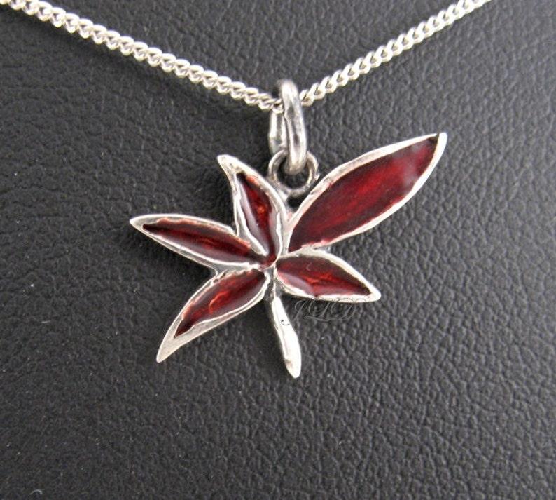 sterling silver and polymer small pendant D\u00e9sir\u00e9e