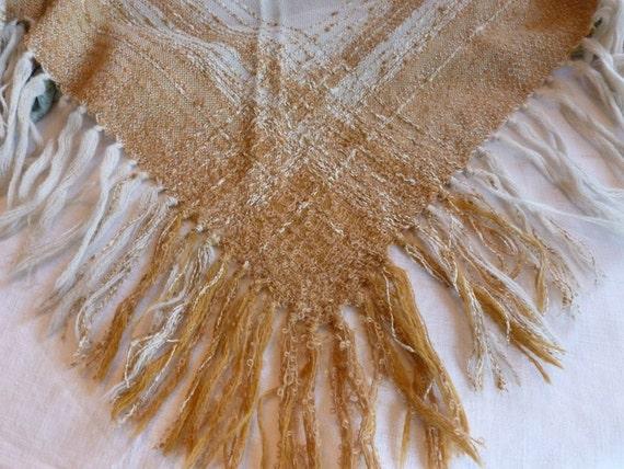 Vintage Arola Shawl~~Made in Finland~~1970's Wool