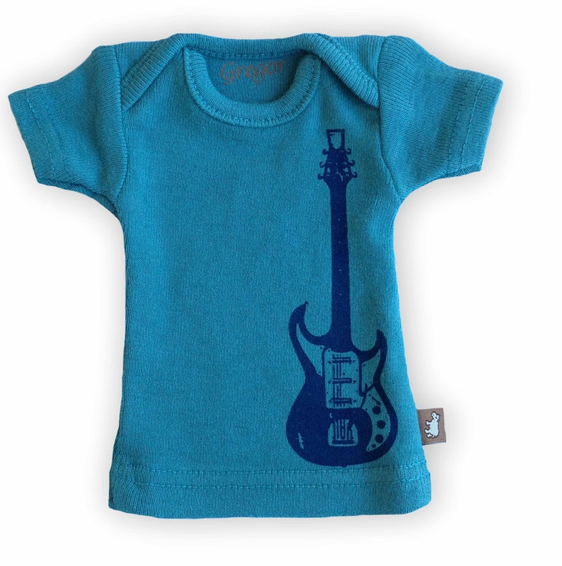 Sasha Doll & MSD sized T-Shirt - Indigo Guitar