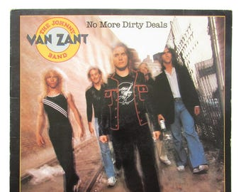 Rock & Pop New Fashion Johnny Van Zant Signed No More Dirty Deal Vinyl Lp *proof* Lynyrd Skynyrd