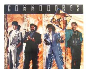 COMMODORES - United Vinyl Record / Funk Music / Soul Music