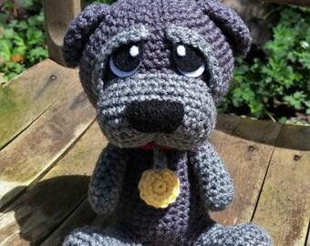 Basset Hound Crochet Dog Stuffed Animal Puppy Handmade Amigurumi ... | 270x340
