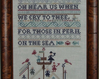 Peril on the Sea Sampler Chart