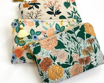 CHOOSE your fabric!! Essential Oil Bag / Small Oil Bag / Essential Oil Travel Pouch