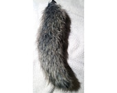 Deluxe Edition 23in Wolf Grey Tail Costume Cosplay