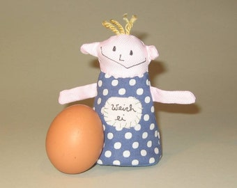 Egg Warmer * wimp * with dots, Easter