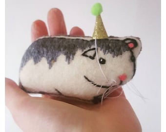 Barry Hamster Soft Toy