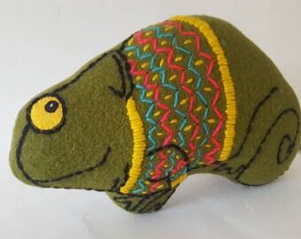 Charlie Chameleon in a Jumper Soft Toy