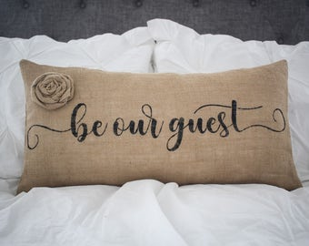 be our guest pillow Be our guest pillow | Etsy be our guest pillow