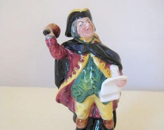 Royal Doulton  -  Town Crier  -  HN3261  -  Designer Peggy Davies  -  1989 to 1991 (retired)  -  Hand Painted  -  Excellent Condition