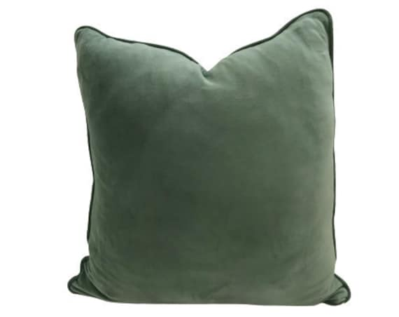 Sage Velvet Pillow Cover, Limited Edition color, While Stocks Last!