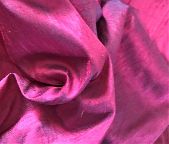 OFFER HURRY! Super Price! 50% DISCOUNT Silk Dupion in Magenta