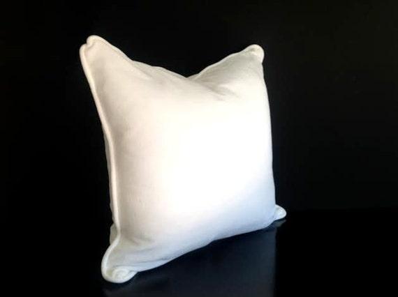 Off- White Velvet Throw Pillow Cover,  Velvet Cushion Cover