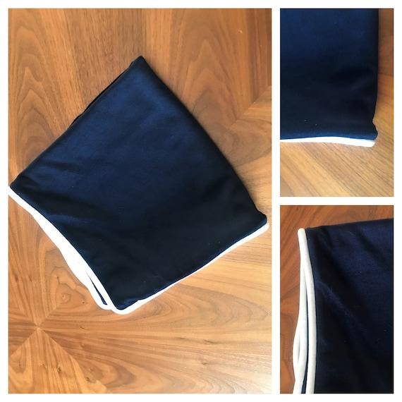 OFFER! HURRY! 50% Discount Navy Blue Velvet  Pillow Cover, Last One!