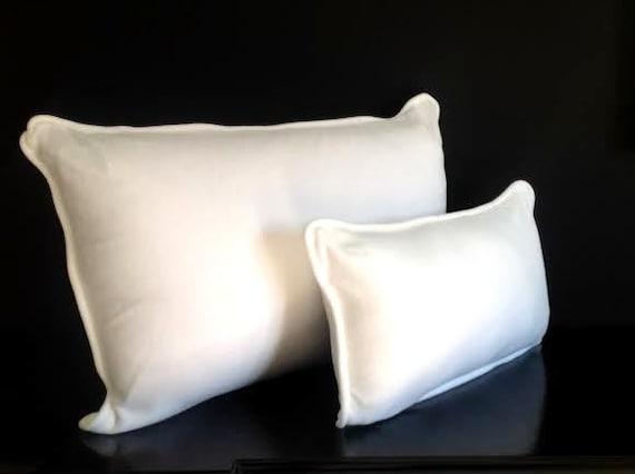 Off-White Lumbar Velvet Throw Pillow Cover , Velvet Cushion Cover