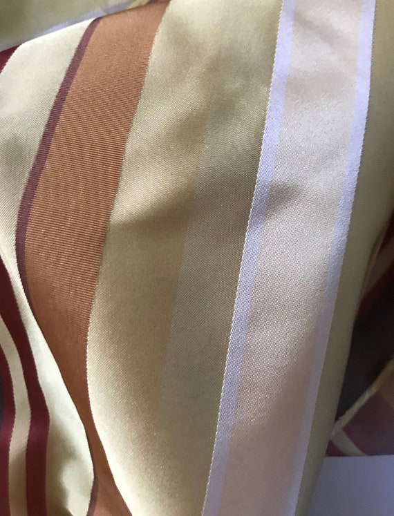 OFFER HURRY! Super Price! 50% DISCOUNT Silk with Stripes