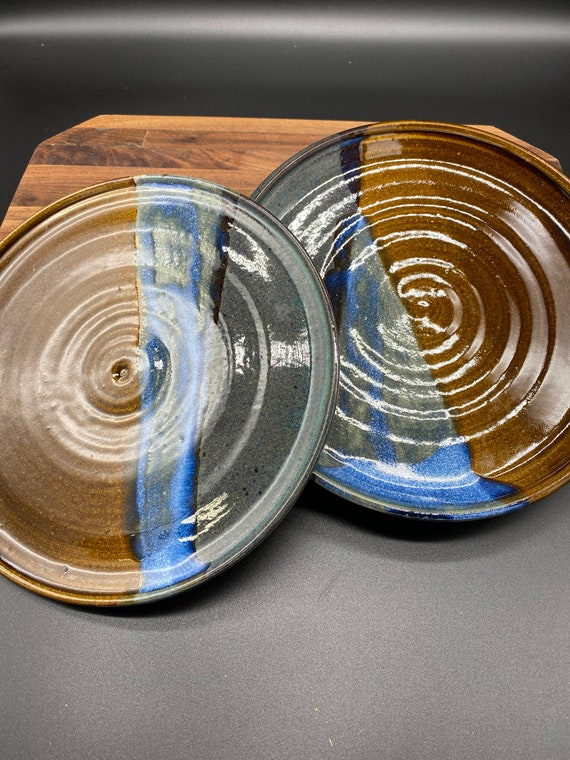 "Two 8"" plates"