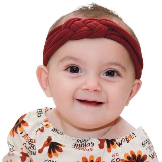 Baby Headband, Turbans, Headbands, Burgundy Headband, Turban Baby Headbands, Baby Girl Headband, Turban Headband, Baby Gift, Baby Headwrap
