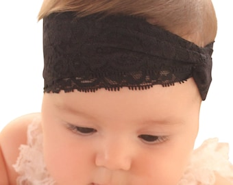Turban Headband, Black Turban Baby, Baby Turban, Headwrap, Child's Turban, Adult Turban Headband, Toddler Headwrap, Infant Headwrap