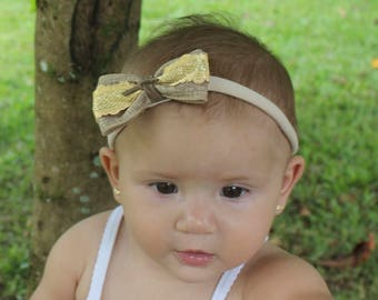 Baby Bows, baby headband, Brown headbands, bow headband, bows, baby bow headband, baby girl, newborn bows, Headband Baby