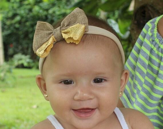 Baby Headband bows, baby head wraps, baby girl headband, Fall Bows Headband, baby bows and headband, baby bows headband, newborn baby Bows