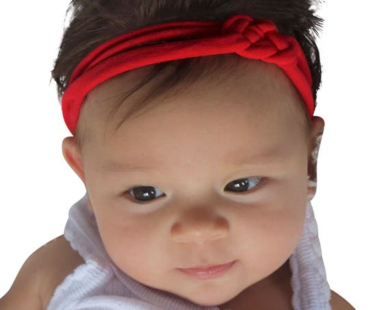 Christmas Headband, Re Baby Headband, Red Headband, Baby Headband, Baby Headband, Baby Headband, Knot Headband, Infant Headbands